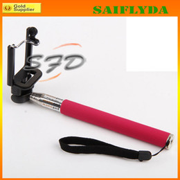 Self-timer tripod Extendable Handle Telescopic mobilephone Monopod camera monopod with holder