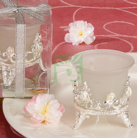 Wholesale 4 Very Gorgeous Silver Candle Holder For Wedding Decoration Retails amp