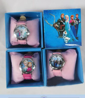 10pcs frozen watch kids fashion quartz cartoon Jelly Candy l...
