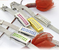 Wholesale high quality Diamond jewelry bracelet usb flash drive pendrive flash memory GB GB GB GB GB