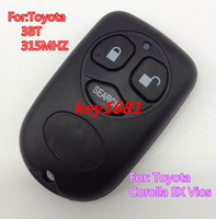Wholesale Hot Sale For Car Toyota Corolla EX Vios Button Remote Key Control MHZ