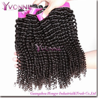 Wholesale Kinky Curl Human Remy Hair Weaves Bundles Real Brazilian Virgin Hair Weave Natural Color Hair Extensions