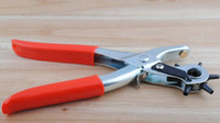 Wholesale 3 Revolving Leather Hole quot Punch Plier Puncher And Belt Cut Eyelet mm