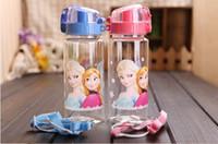 Wholesale Frozen Drinkware Frozen Water Bottles Auto Buttom Direct Drinking Student Drink Bottle Frozen