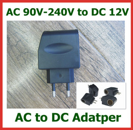 AC 90-240V to DC 12V 0.5A   500mA EU US Plug Car Charger Socket Adapter Car Power Adapter Converter