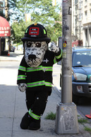 Wholesale Hot Dog the NYC Fire Safety Mascot Costume for Halloween christmas Party Costume Character Outfit Fancy dress
