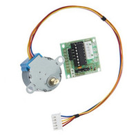 Cheap Free shipping 5pcs 5V 4-phase Stepper Motor + ULN2003 Driver Board for Arduino