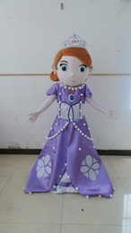 Wholesale light and comfortable to wear WR210 princess sofia costume sofia the first mascot costume for adult