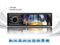 Monitor TV Roof Car Mp5 Player Car Audio Receiver TFT Display Supports SD MMC card,USB FM Radio Front Aux-in + Remote Control replace car DVD CD