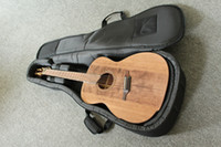 Wholesale New brand solid wood acoustic guitar with fanned frets by handcraft