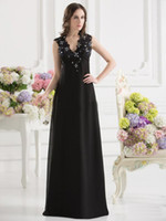 Wholesale Dandy Chiffon Nylon Lace Off shoulder Appliques Sequin Sash Sleeveless Backless A line Evening Dresses