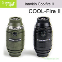Single Black Plastic Innokin Cool Fire II 2014Cool fire I kit Cool Fire 2 starter kit hotest selling