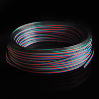 extension cord - 164FT M RGB Pin Extension Connector Cable Cord For RGB LED Strip NEW