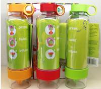 Wholesale 2014 hot sell Citrus Zinger Fruit Infusion Water Bottle Citrus Zinger Water Bottle with Citrus Juicer Lemon cup DHL Free