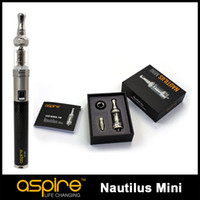 Wholesale Pre Sell Newest Aspire Mini Nautilus adjustable airflow Tank System Clearomizer atomizer high quality