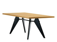 dining table - Jean Prouve EM table Dining table Conference table Living room table Office table Solid wood desk Furniture