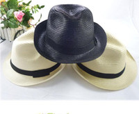 Wholesale Lowest Hot selling Mens men Womens women Fedora Panama Tribly Summer Sun Straw Fedora Crushable Cap Hat wx49