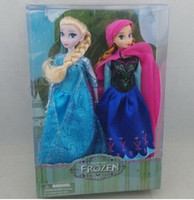 Retail 2014 hot sell Frozen girls frozen princess Elsa Anna ...