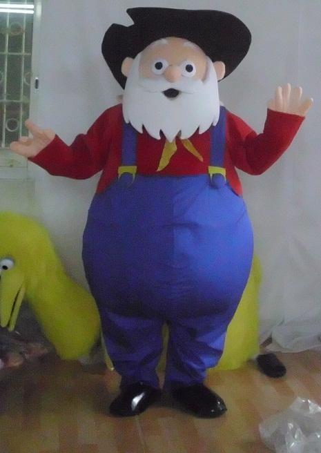 Toy Story Strong : Toys story strong the old man mascot costume for halloween