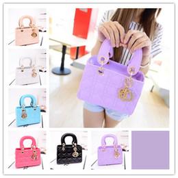 Wholesale 6 Color Big Girl Handbags Children Small Totes Girl Mini Bags Children Small Mini Shoulder Messenger Bag S0701