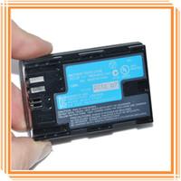 camera battery - 1800mah LP E6 LPE6 Digital Camera Battery For Canon E0S DMark II III D2 D3 D D D Original Batteries DHL Free