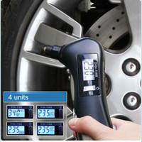 Tire Gauges emergency car tool flashlight - 10pcs in Multifunction Digital Car Auto Tyre Pressure Tire Gauge Tester Flashlight Auto Emergency Diagnostic Tool LCD Display K1303