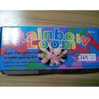 Novelty Games Rainbow Loom kit Silicone Rubber 600 pcs bands...