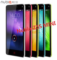 EVDO 800 MHz  Quad Core Android Original ZTE Nubia Z5S Mini Quad Core Cell phone 5mp 13mp Camera 4.7'' OGS 1280x720 Snapdragon 600 1.7GHz 2GB RAM 16GB ROM GPS OTG