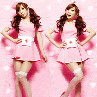 Wholesale Lingerie uniform temptation to role play nurses clothing ds costumes clothing game uniforms Y002