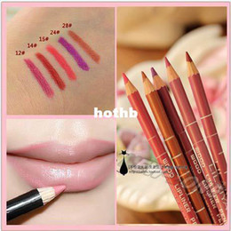 Wholesale Minimum Order Waterproof Professional Lip Liner Pencil Long Lasting Colors CM Lip liner pen makeup g