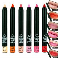 Lip Liner 3 g  Wholesale-Free Shipping High Qualit Woman Sexy Charming Lipstick Penil Make Up Tools Lip Liner Easy To Carry Add Color&Shine To Your Lips