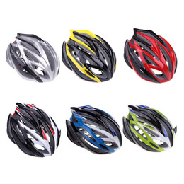 Wholesale 6 Colors Outdoors Sports Road Bike Bicycle Cycling Helmets EPS PC Ultralight MTB Mountain Protective Bike Helmet Size cm H10766