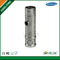 Single Silver Metal Innokin cool fire 1 e cig 100% original cool fire 1 innokin hottest seller fashionable with clear atomizer iclear 30B free shipping via DHL