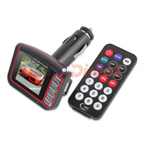 Wholesale quot LCD Wireless FM Transmitter SD MMC USB Car MP4 Player