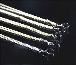 Wholesale New E cig Metal Lanyard ego Necklace string neck chain Lanyard for ego ego t ego w ego c ego F electronic cigarette