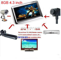 Guangdong China (Mainland) jxd990 - inch GB Portable Video Recorder DVR Monitor AV IN AV OUT MINI DV JXD990