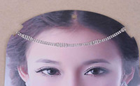 Headbands White bride accessories korean Rhinestones headband for women bride hair band headpin hair accessories hair ornaments hairwear H09