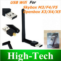 Wholesale 150M USB WiFi Wireless Network Card n g b LAN Adapter for Skybox Openbox VU Cloud ibox Azbox Bravissimo