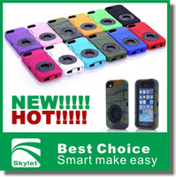 Plastic ballistic plastic - Rugged Hybrid in Rubber Ballistic Cover Hard Plastic cell phone Case For IPHONE5 S4 S SAMSUNG S5 NOTE3 I9600 L50w pec