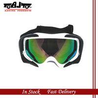 Wholesale BJ MG A White color Motorcycle Glasses Goggles Biker Dirt Bike ATV MX Hiking Skater Tinted Lens Series