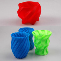 Yes C1838 OEM 3D Printer Filament 1kg 2.2lb 3mm ABS Plastic for MakerBot RepRap Mendel