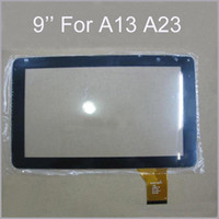 Wholesale DHL Brand New inch inch Touch Screen Glass Digitizer Digitiser Panel Replacement For Q9 A13 A23 Tablet PC Repair Part MQ10