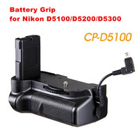 Wholesale Black High Strength Engineering Plastic Battery Grip Holder for Nikon D5100 EN EL14 DSLR Camera