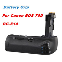 Yes Yes SLR Battery Grip New Vertical Battery Grip Holder For Canon EOS 70D Camera Replace as BG-E14