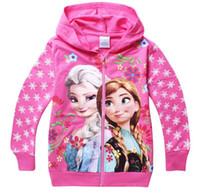 Cheap Girl frozen Best Spring / Autumn Hooded FROZEN cothes