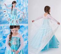 Cheap TuTu dress Best Winter Pleated frozen dress