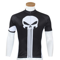 Wholesale Hot Sale Black Paladin Men Bike Cycle Bicycle Cycling Jersey Ghost Teet Cycling short sleeves Clothes
