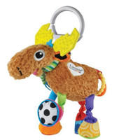 Jets Plane Metal Red Free shipping Hot sale super cute multifunctional deer antelope brown lamaze bed hang bell baby toys 1pc