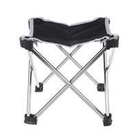Wholesale 2014 NEW Outdoor Portable Foldable Folding Fishing Chair Tool Square Camping Stool Size S