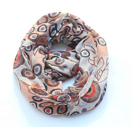 Dot Chevron Infinity Scarves